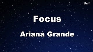 Focus - Ariana Grande Karaoke【With Guide Melody】