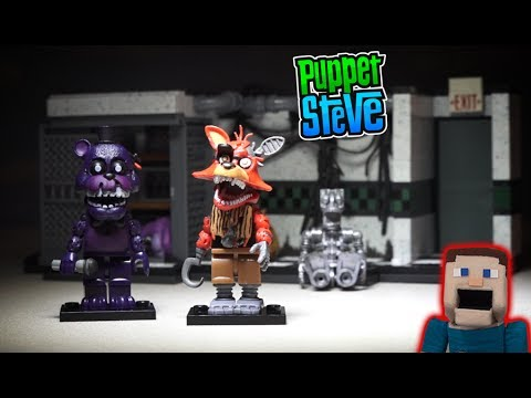 Five Nights at Freddys fnaf PARTS AND SERVICES McFarlane toys TRU Shadow Freddy Playset Unboxing