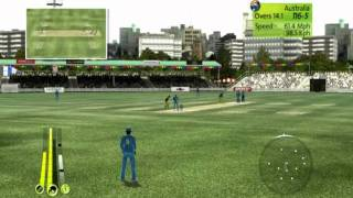 Brian Lara international Cricket 2007( PC Gameplay ) - India Vs Australia Part - 2