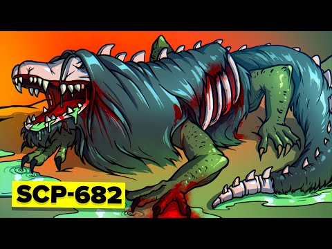 SCP-682 - Ways SCP Foundation Tried to Kill Hard To Destroy Reptile