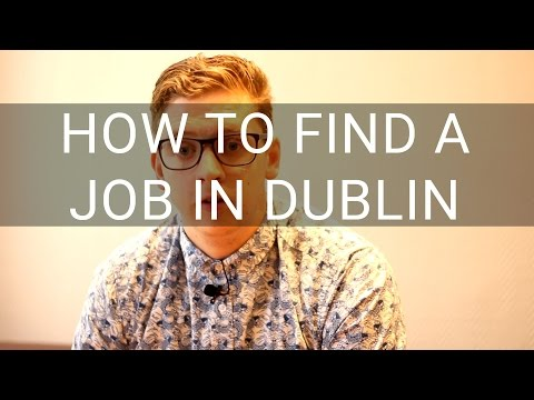 How to Find a Job in Dublin - Conor