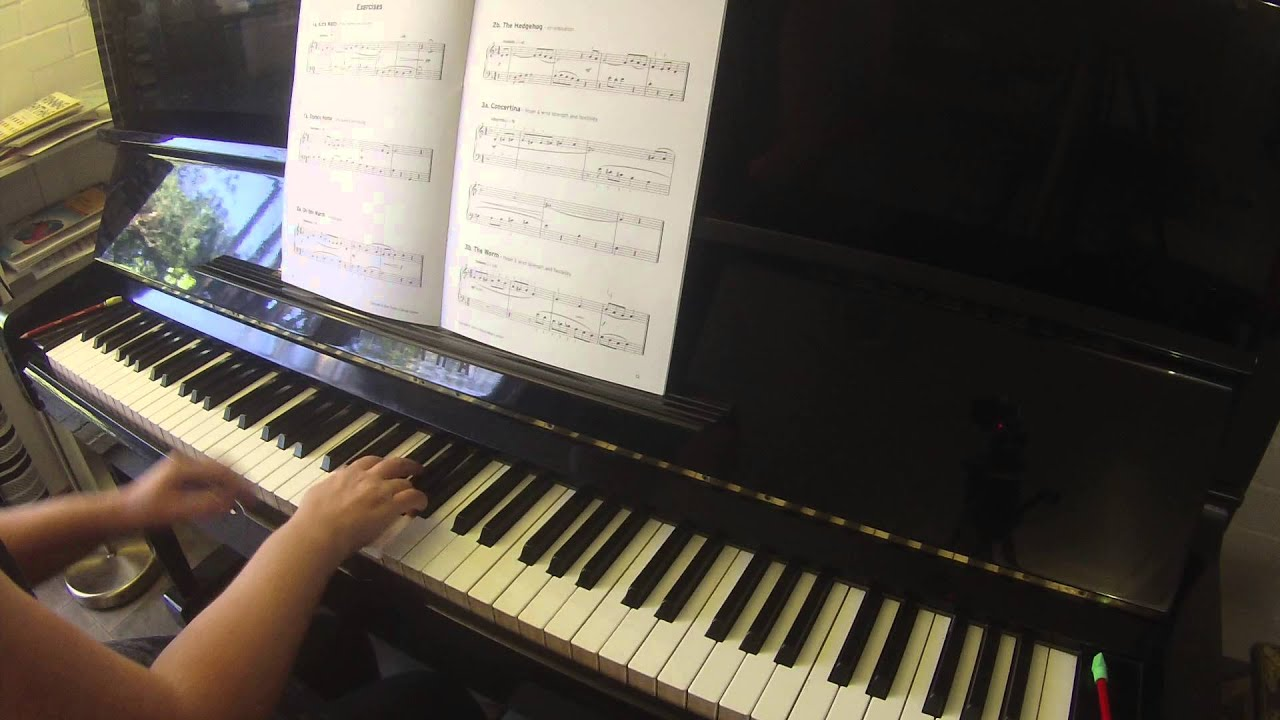 Exercises 2b 3a 3b Trinity College London piano grade 1 2015-2017