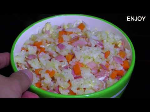ข้าวผัดแครรอท - เมนูอาหารจานเดียวข้าวผัดแครรอทรสเด็ด