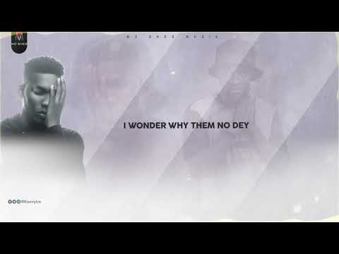 Keeny Ice ft Victor AD - Ebe God (Lyrics video)