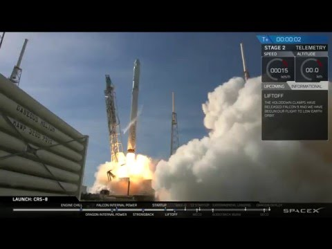 CRS-8 Dragon Hosted Webcast