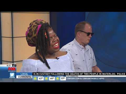 Danielle Ponder sings on Good Day Rochester