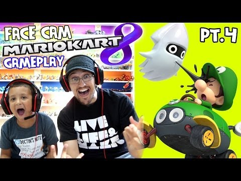Mario Kart 8 - Dad & Son Race! Special Cup 50cc w/ Metal Mario (Let's Play Pt. 4)