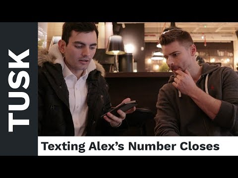 Texting Alex's Leads For A Weekend Date | Tusk Transformation