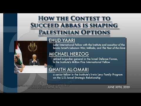 How the Contest to Succeed Abbas Is Shaping Palestinian Options