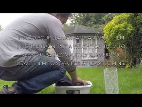 How to Soak Your Jeans