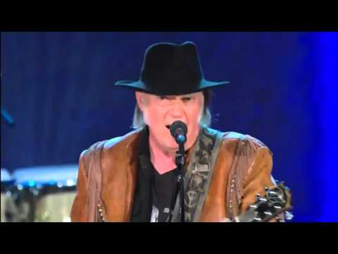 Neil Young and The Promise of the Real sing Stay all Night, Stay a little longer Live. 2016 in HD.