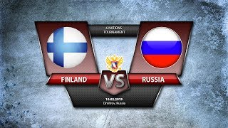 6 NATIONS TOURNAMENT. Finland - W Russia. 10.02.2019