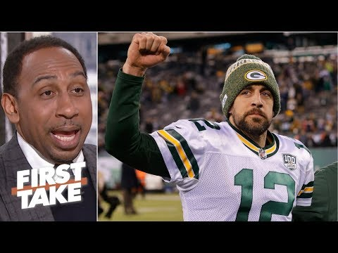 Criticism of Aaron Rodgers is worthless – Stephen A. | First Take