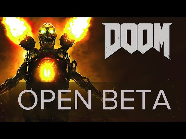 Doom 2016 Open Beta (pc) Gameplay