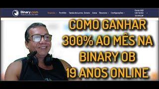 BINARY OPTIONS STRATEGY COMO GANHAR 300% AO MÊS NA BINARY