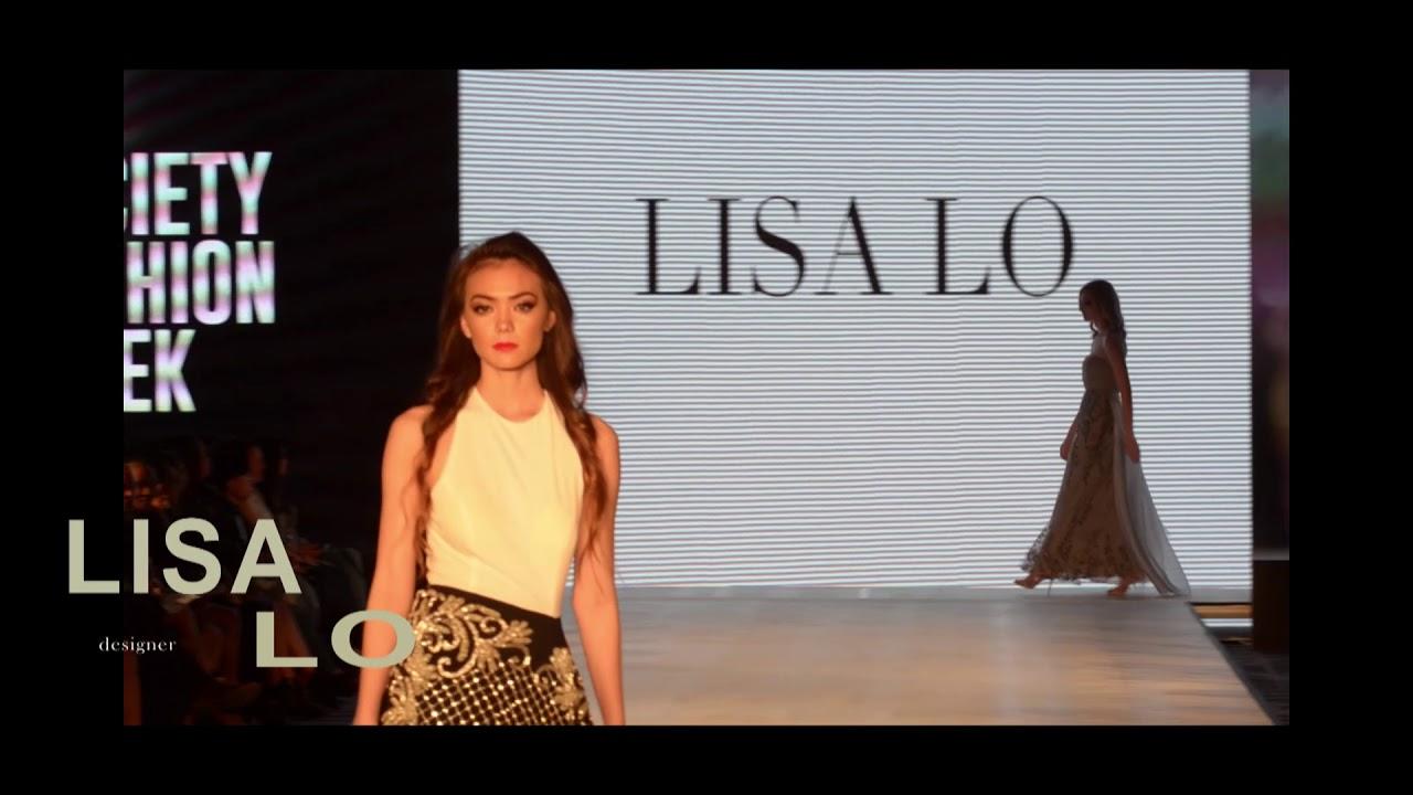 Lisa Lo 2018 Society Fashion Week Los Angeles Giaher Media Youtube