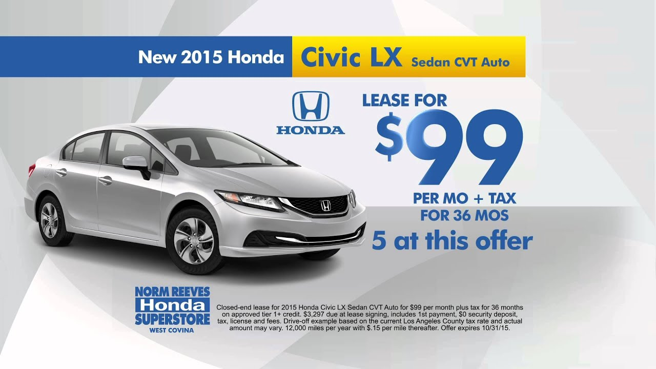 Norm Reeves Honda West Covina   The Honda For You