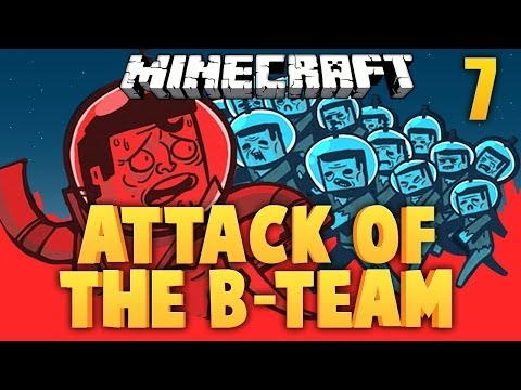 Red Stone Furnace ★ MINECRAFT ★ ATTACK OF THE B TEAM [Ep. 7]