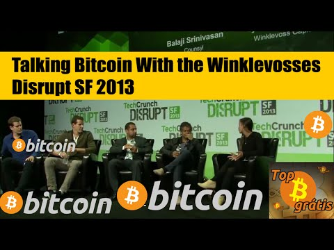 Talking Bitcoin With the Winklevosses [HD] - Disrupt SF 2013