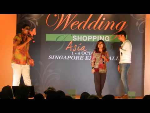 Shukri Yahya & peminat nyanyi Tak Pernah @ SG Expo 3 Oct 2015