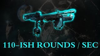 Warframe - Probably The Fastest Firing Setup In The Game (110-Ish Rounds / Sec)