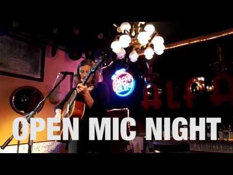 OPEN MIC NIGHT 07-04-2016 Alfa Bar Barcelona