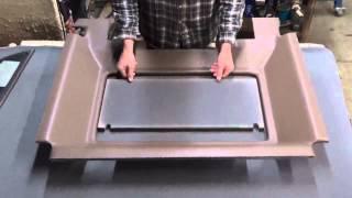 John Deere 50 Series Headliner Kit | Tractor Interior Upholstery