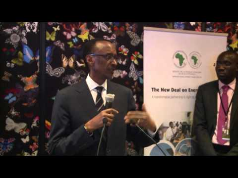 Launch of the New Deal On Energy for Africa | Davos, 20 January 2016