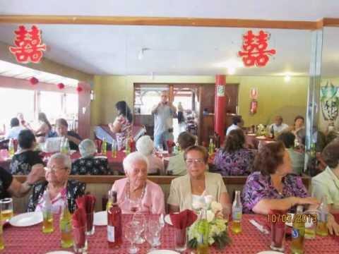 Cumplea os 100 abuela aidee youtube for Decoracion de fiestas para adultos