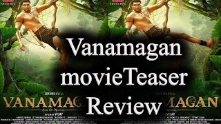 Vanamagan Teaser review|Vanamagan Official First Look |vanamagan movie latest news
