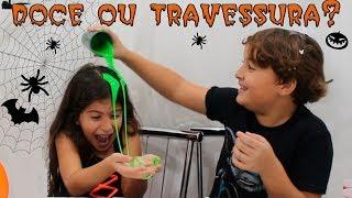 DOCE OU TRAVESSURA? Brincadeiras de Halloween trick or treating
