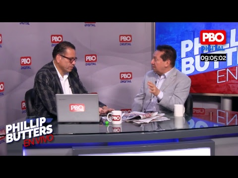 Phillip Butters - En Vivo 26 Dic. 2018- Entrevista a Luis Benavente