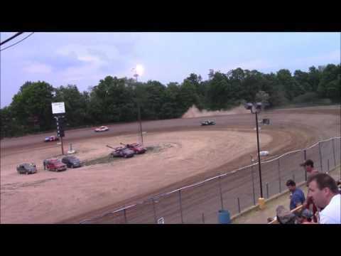 Butler Motor Speedway FWD Heat #2 5/28/16