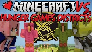 Hunger Games Districts | Minecraft VS. Ep 21