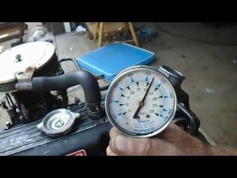 Merc 120 Running motor & compression test