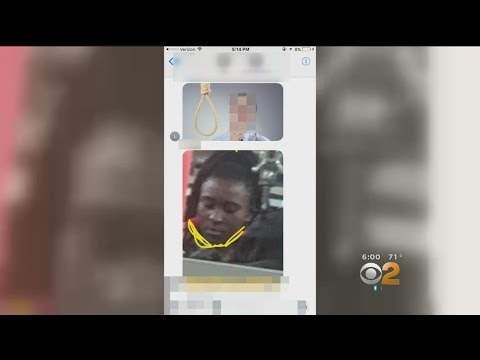 Black Girl Pictured Underneath Image Of Noose In School's Chat Room