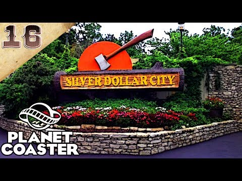 Planet Coaster Recreation Series | Silver Dollar City (Part 16) | Thunderation