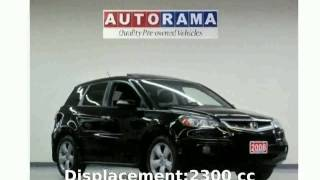 2009 Acura RDX Automatic Tech Package - Info