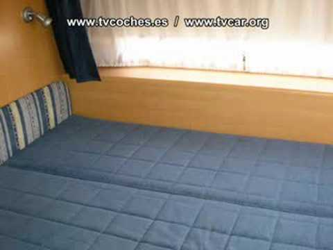 caravana wohnwagen caravana adria 542pk youtube. Black Bedroom Furniture Sets. Home Design Ideas