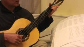 """Hướng dẫn Guitar Solo Bài """"Gặp Mẹ Trong Mơ"""" (Phần 2) --  Mother In The Dream"""