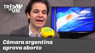 Câmara argentina aprova aborto