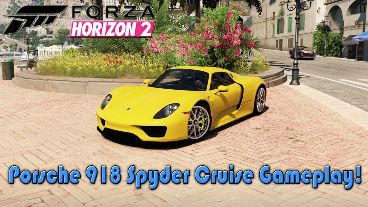 forza horizon 2 2014 porsche 918 spyder cruise gameplay porsche expansion hd xbox one. Black Bedroom Furniture Sets. Home Design Ideas