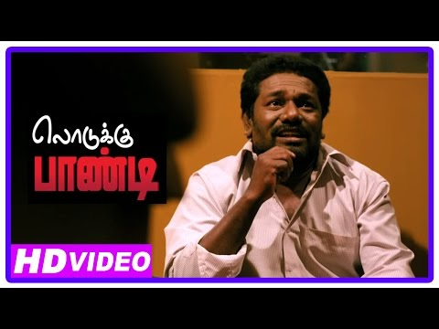 Lodukku Pandi Tamil Movie | Scenes | Karunas Stuck Up In Studio | Neha Saxena