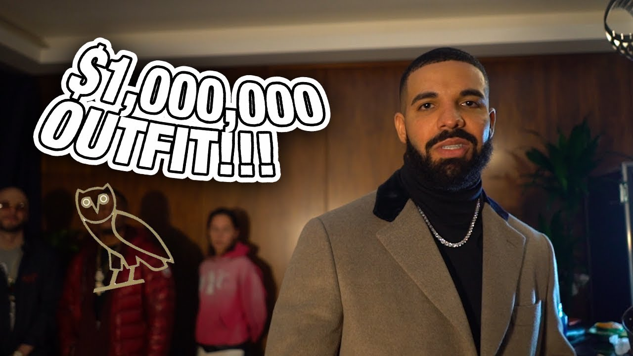 Image result for Drake million dollar outfit