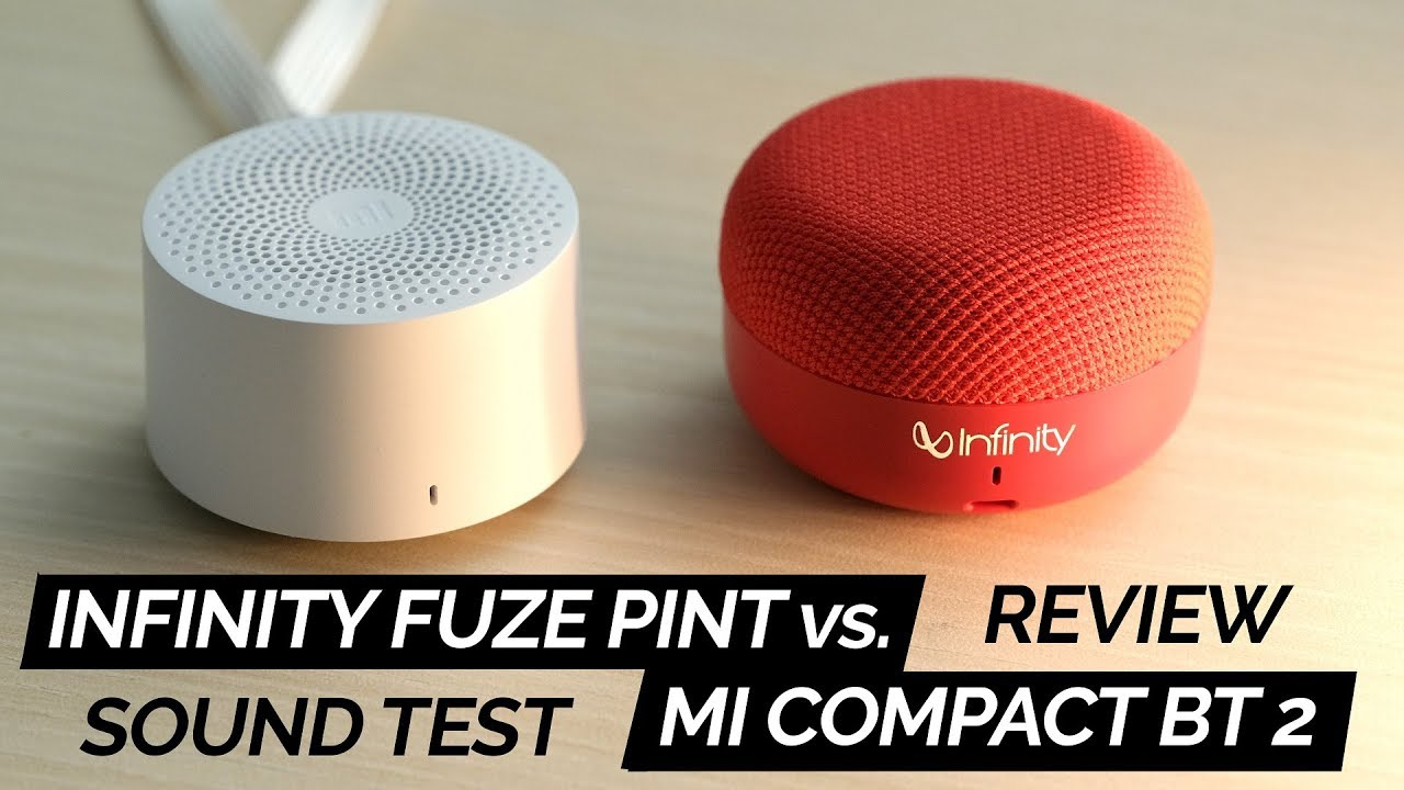 Infinity Jbl Fuze Pint Review Vs Mi Compact Bluetooth Speaker 2 Youtube