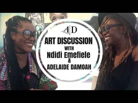 Ndidi Emefiele Explores Her Work: Art Discussion
