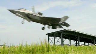 بالفيديو.. إف ـ 35 بي تنفذ أول عملية قفز فوق منصة الإقلاع