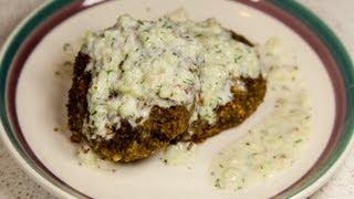 Vegan Falafel And Tzatziki Sauce (low Salt!)