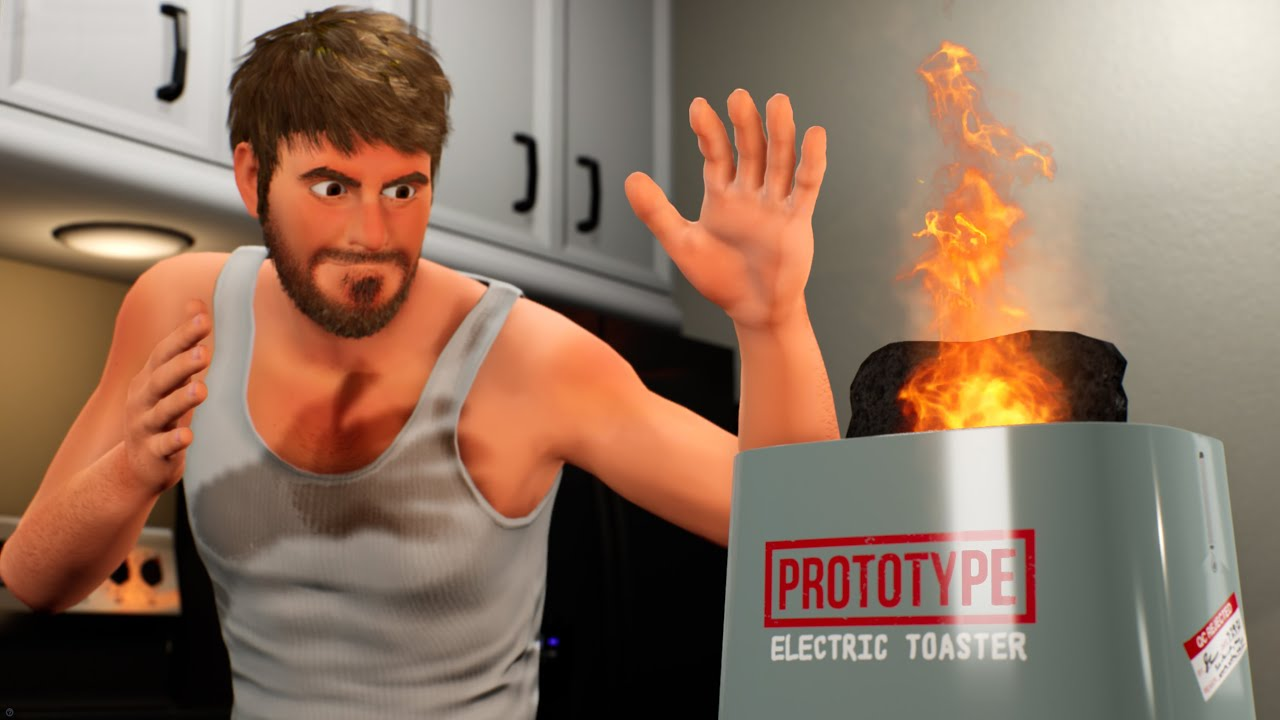 """Exploding Toast"" | Unreal Engine Animated Short Film (2021)"