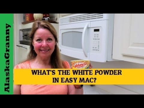 What Is The White Powder In Easy Mac Bowls Cups
